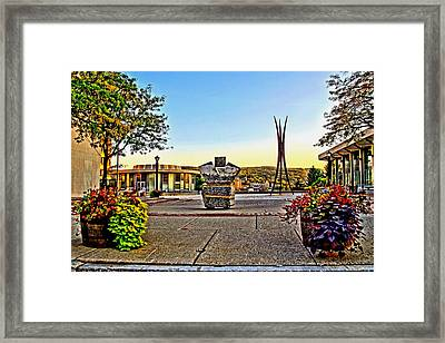 Victorii Rebuild - A 911 Memorial Framed Print