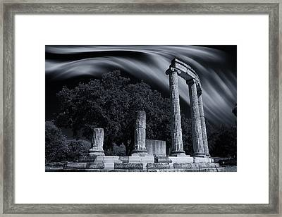 Framed Print featuring the photograph Victory At The Battle Of Chaeronea by Micah Goff