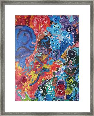 Victory Candy Framed Print