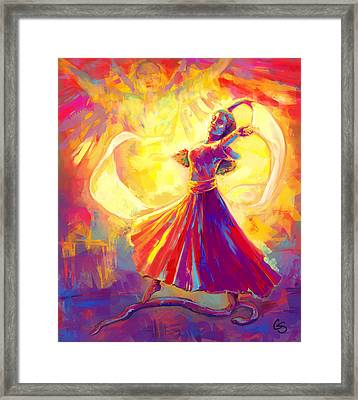 Victory Dance Framed Print by Tamer and Cindy Elsharouni