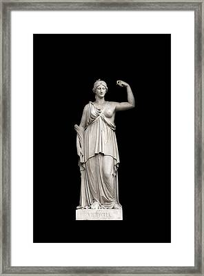 Framed Print featuring the photograph Victory by Fabrizio Troiani