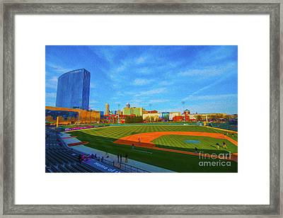 Victory Field 1 Framed Print by David Haskett