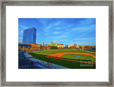 Victory Field 1 Framed Print by David Haskett
