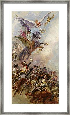 Victory Framed Print by Jean-Baptiste Edouard Detaille