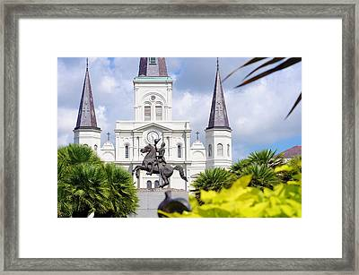 Victory Framed Print by Kenneth Feliciano