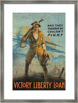 Victory Loan Framed Print by Unknown