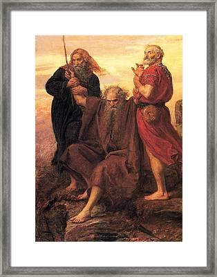 Victory  O Lord Framed Print by John Everett Millais