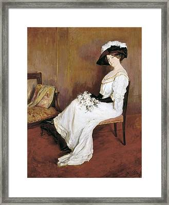 Vidal I Puig, Llu�sa 1876-1918 Framed Print