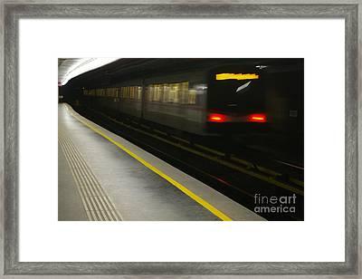 Vienna By Night 3 Framed Print