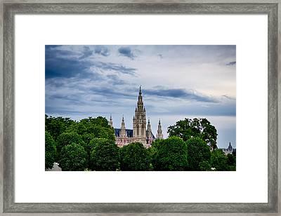 Vienna Rathaus Framed Print by Viacheslav Savitskiy