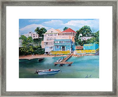 Vieques Puerto Rico Framed Print by Luis F Rodriguez