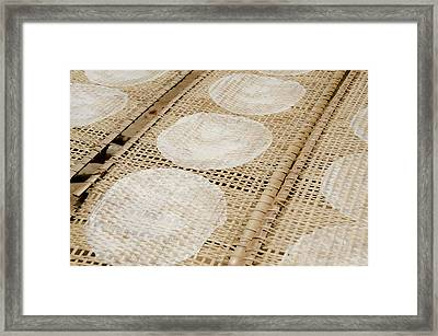 Vietnam, Cu Chi, Lang Banh Trang Framed Print by Cindy Miller Hopkins