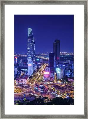Vietnam, Ho Chi Minh City Framed Print
