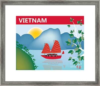 Vietnam Horizontal Scene Framed Print