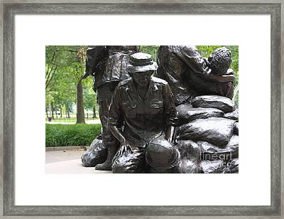 Vietnam Nurses Memorial  Faith Framed Print