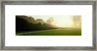 Vietnam Veterans Memorial, Washington Framed Print