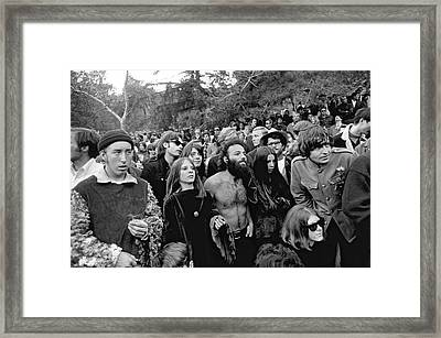 Vietnam War Protest Framed Print by Underwood Archives
