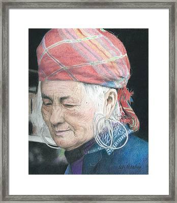 Vietnamese Framed Print by Wilfrid Barbier