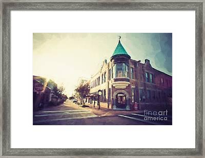 Vieux Marche Biloxi Framed Print by Joan McCool