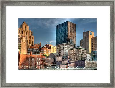 vieux Montreal Framed Print