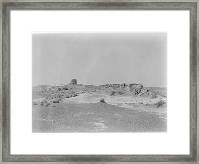 View Along The Line Of The Wall Framed Print by British Library