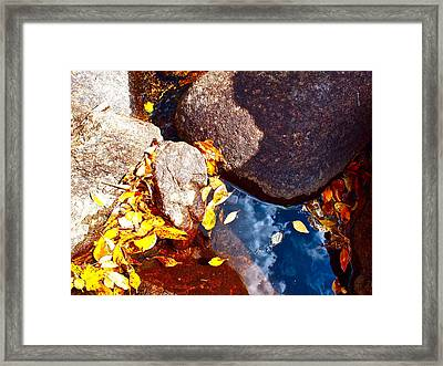 View At Peak To Peak Framed Print