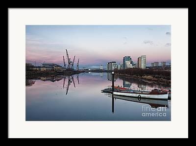 Glasgow Scotland Cityscape Framed Prints