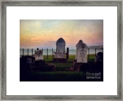 View For Eternity Framed Print by Karen Lewis