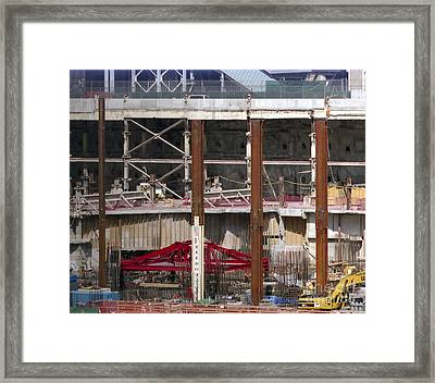 Framed Print featuring the photograph View From 10 10 by Steven Spak