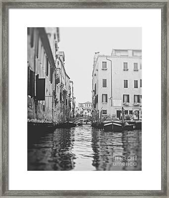 Waters Of Venice Framed Print