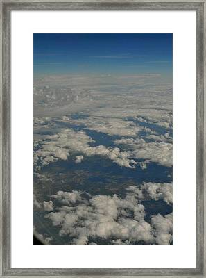 View From Above Framed Print by Brynn Ditsche
