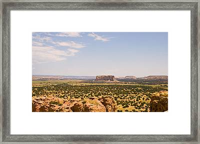 View From Acoma Mesa Framed Print