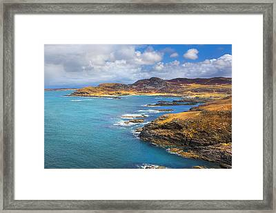 View From Ardnamurchan Framed Print by David Hare