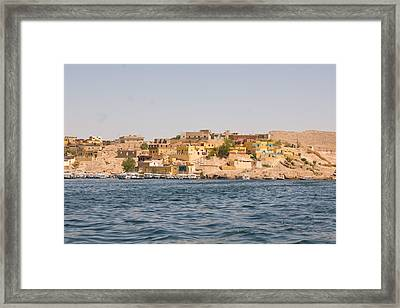 View From Boat Framed Print