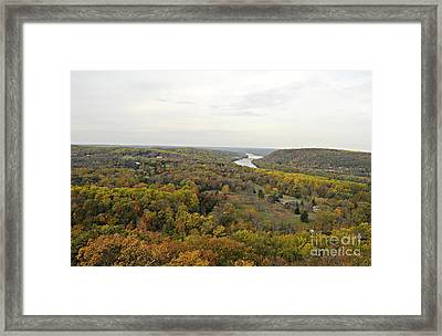 View From Bowman's Tower North Framed Print by Addie Hocynec