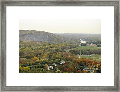View From Bowman's Tower South Framed Print by Addie Hocynec