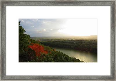 View From Chauncey Peak Framed Print by Stephen Melcher