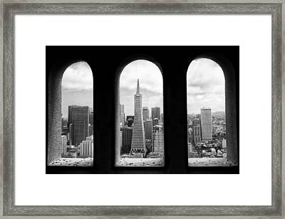 View From Coit Tower Framed Print