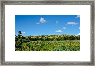 Framed Print featuring the photograph View From Crystal Cove by Joseph Hollingsworth