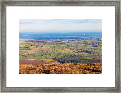 View From Djouce Towards Bray And Greystones Framed Print by Semmick Photo
