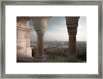 View From Fishermans Bastion Framed Print