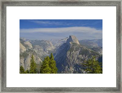 View From Glacier Point Yosemite Framed Print