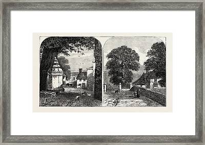 View From Hawarden Overlooking The Estuary Of The Dee Left Framed Print by English School