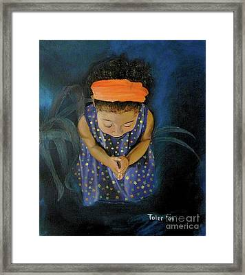 View From Heaven Framed Print by Susan  Toler