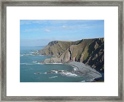 Higher Sharpnose Point Framed Print
