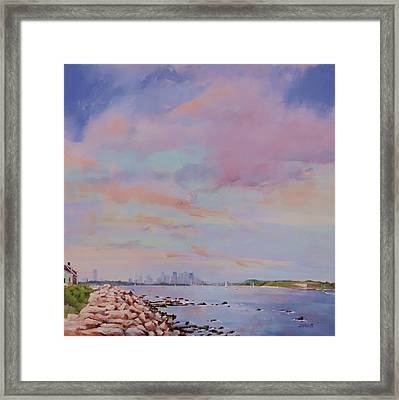 View From Hull Framed Print