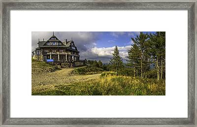 View From Jaworzyna Mountain In Poland 1 Framed Print