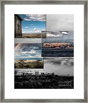 View From Jerome Framed Print by David Mendoza