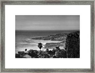 View From Marymount University Framed Print