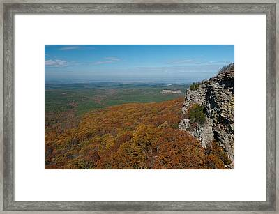 View From Mount Magazine  Ar - 2036  Framed Print by Jerry Owens
